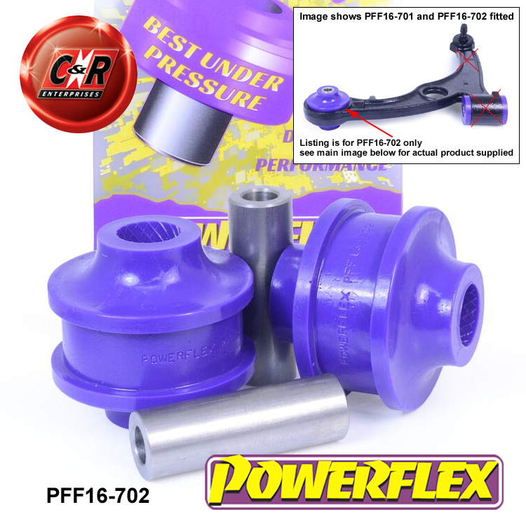 PFF16-702 Powerflex Front Wishbone Rear Bush