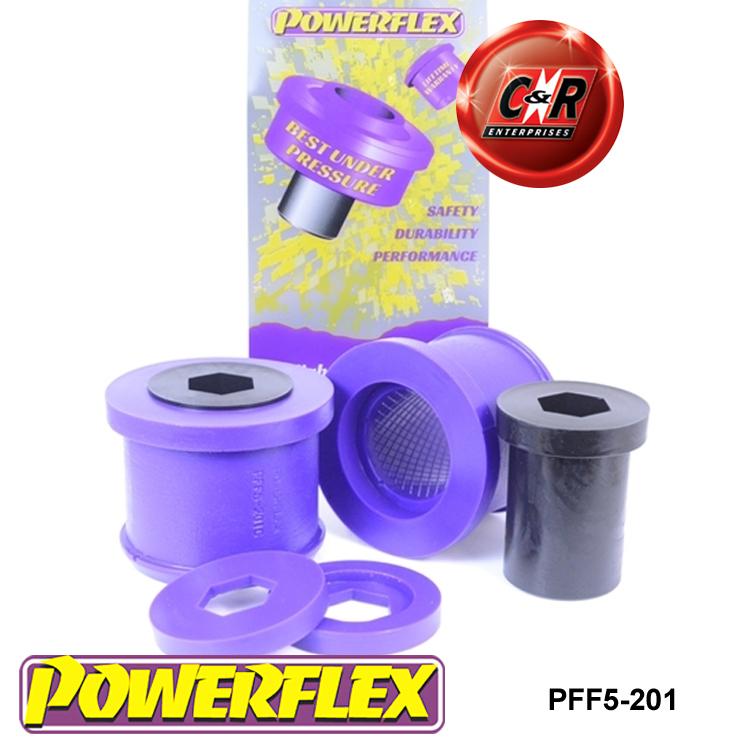 Powerflex FRONT WISHBONE REAR Bushes PFF5-201 Mini Gen 2 06-13 R55//56//57