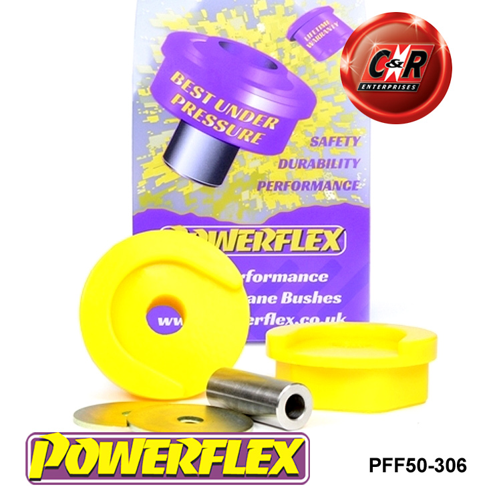 Diesel Engine 1 in Box PFF50-306R Powerflex Lower Rear Engine Mount Bushes