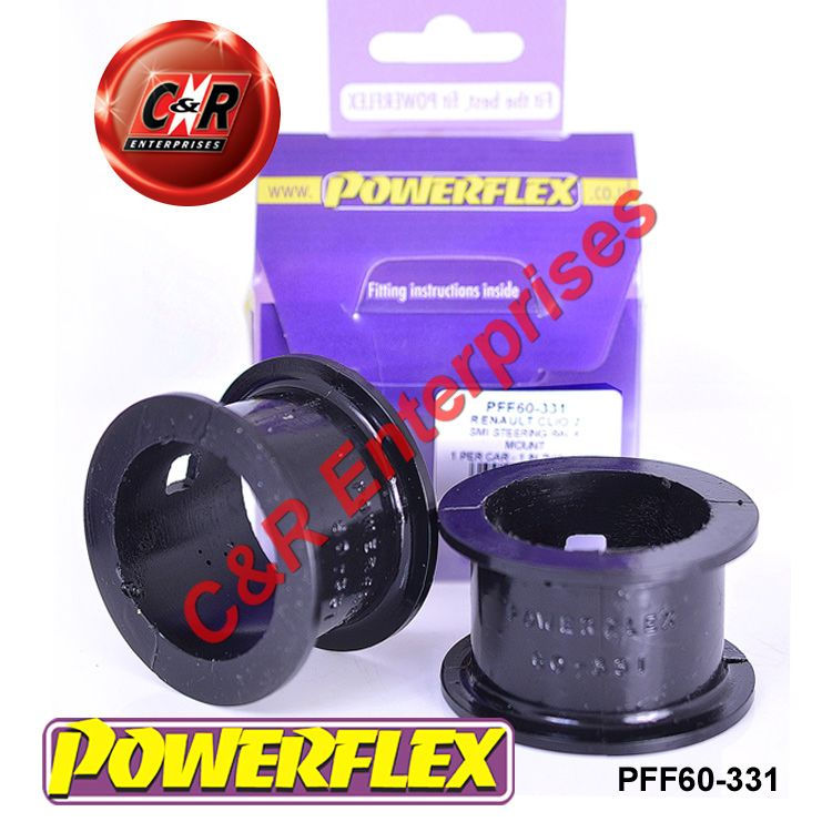 Renault Clio 172 inc 182 Mk2 97-05 POWERFLEX FRONT ANTI ROLL BAR BUSHES 25mm