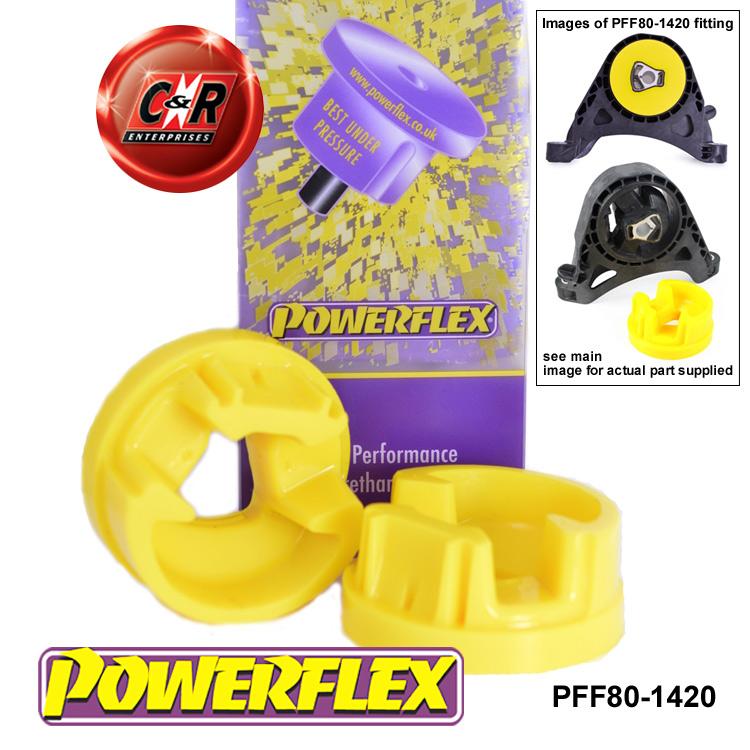Powerflex moteur avant mount insérer vauxhall opel astra j PFF80-1420