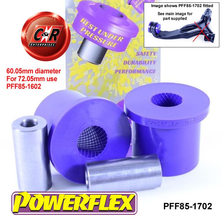 PFF85-1602 Powerflex Front Lower Wishbone Rear Bush 2 in Box