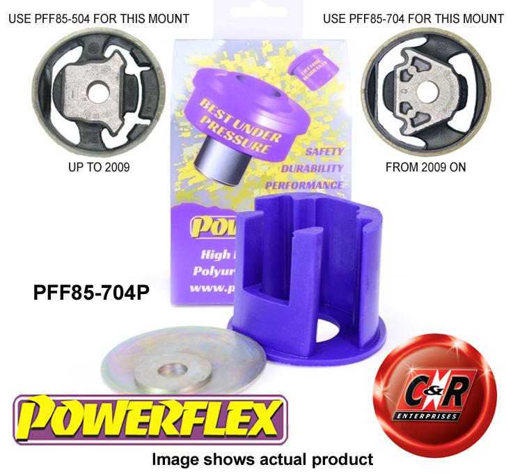 PFF85-620P fit Powerflex Lower Engine Mount Large Bush Track Use