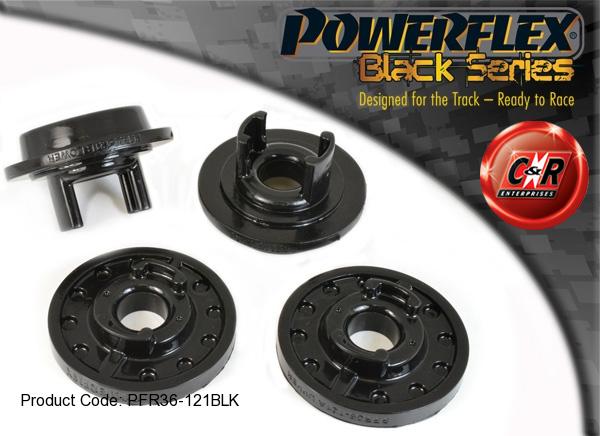 Powerflex Black Steering Rack Mounting Bush Kit Mazda MX-5 NA 89-98 PFF36-108BLK
