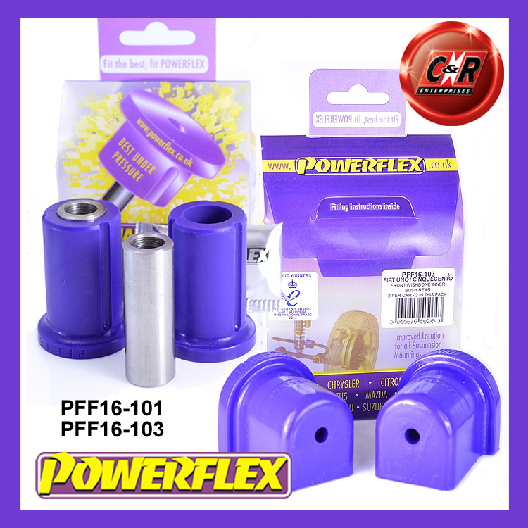 Powerflex Bush Poly For Fiat Cinquecento /& Seicento Front Wishbone Front Inner