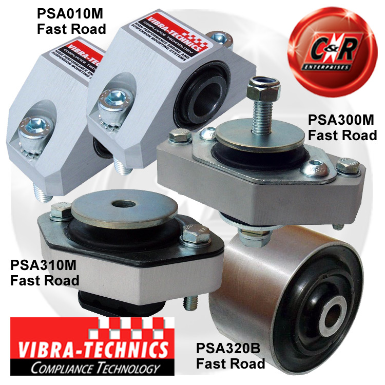 Vibra Technics Uprated Performance//Fast Road Left Hand Gearbox Mount PSA310M