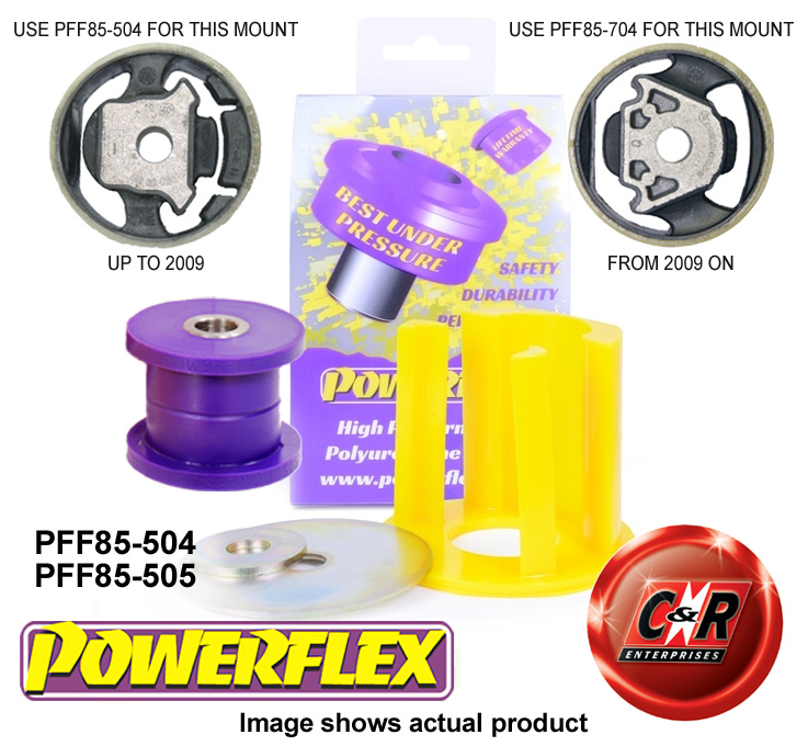 Seat Leon 05-09 Powerflex Low engine mountings PFF85-504//505