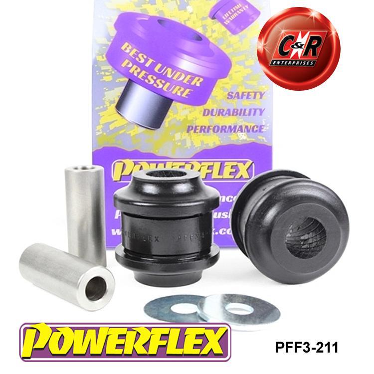 PFF3-201BLK Powerflex Front Lower Shock Mount BLACK Series 2 in Box