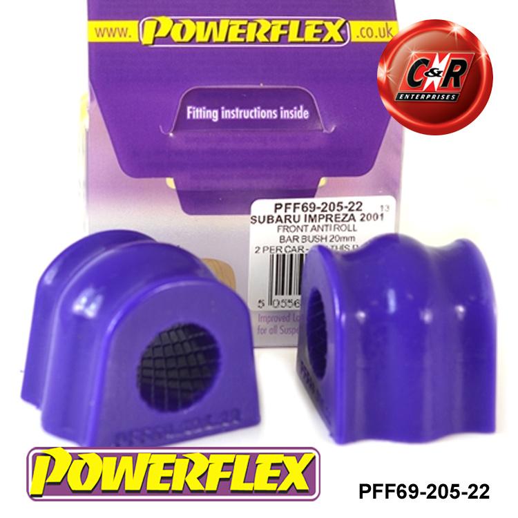 Powerflex Anteriore Forcella Posteriore Bush pff69-102 Subaru Forester, Impreza, Legacy