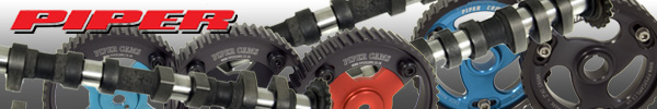 Piper High Lift Camshafts, Pulleys & Cambelts