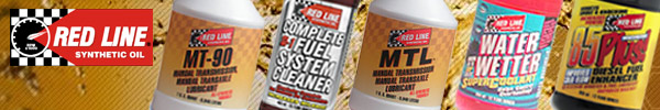 Redline Synthetic Oils and Additives